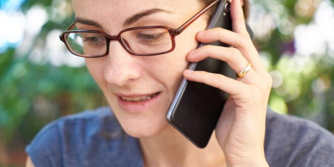 Consulting a Phone Psychic